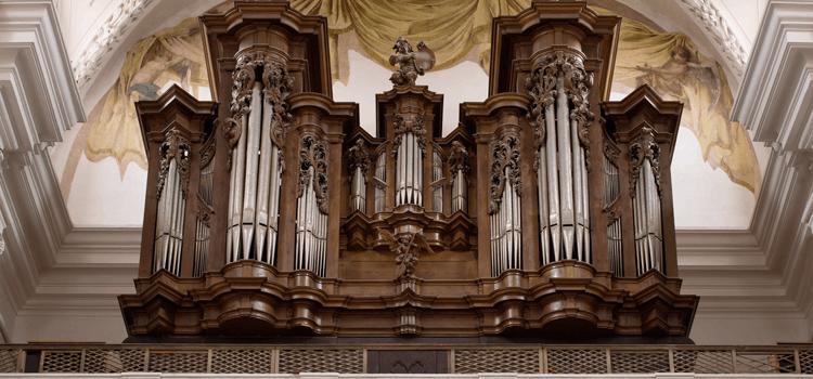 Varhany v chrámu Nanebevzetí P. Marie v Polné
