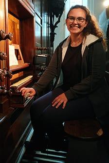 Ivana Měsíčková, varhany