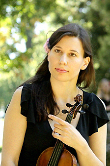 Magdaléna Malá, housle