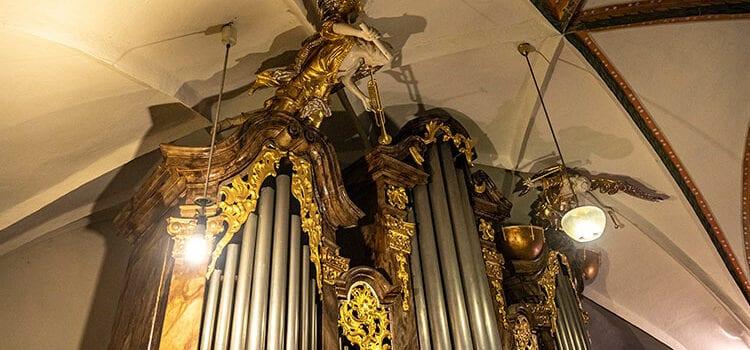 Varhany v kostele sv. Jakuba Většího v České Kamenici
