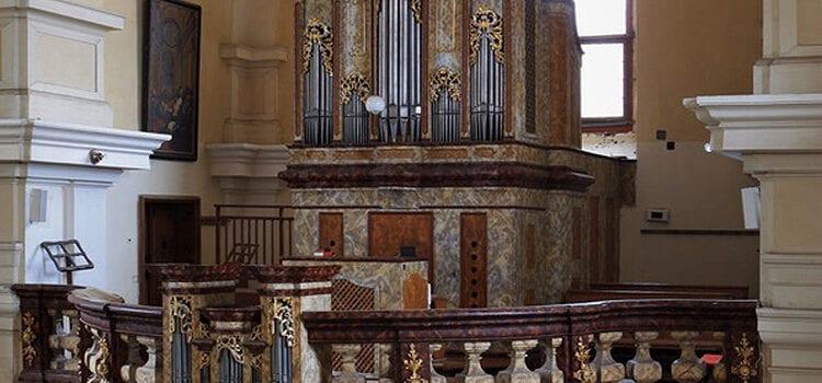 Varhany v kostele sv. Jana Křtitele v Bystré