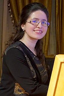 Tetiana Tishchenko, varhany